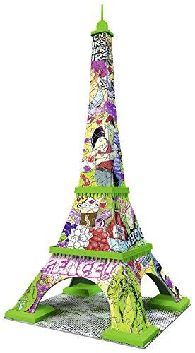 Ravensburger Italy Puzzle 3d Torre Eiffel Pop Art Edition 216 Pezzi Colore Bunt Rap125999 0 1