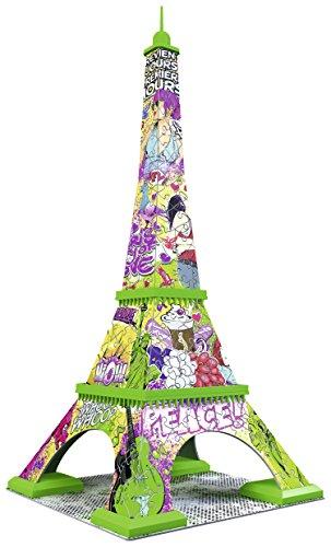 Ravensburger Italy Puzzle 3d Torre Eiffel Pop Art Edition 216 Pezzi Colore Bunt Rap125999 0 2