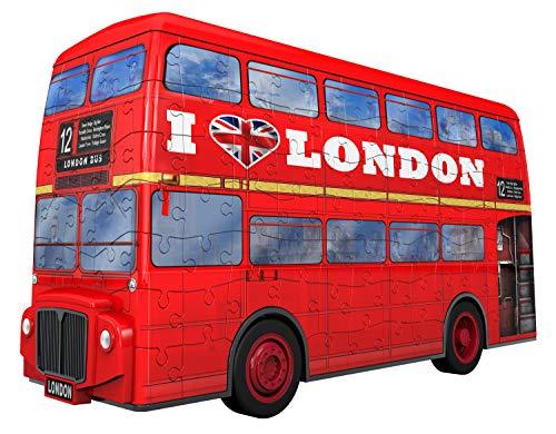 Ravensburger London Bus 3d Puzzle Multicolore 12534 0 0