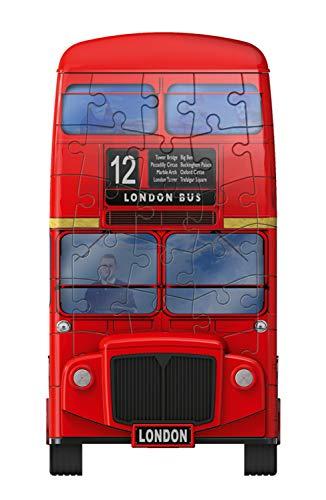 Ravensburger London Bus 3d Puzzle Multicolore 12534 0 3