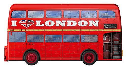 Ravensburger London Bus 3d Puzzle Multicolore 12534 0 4
