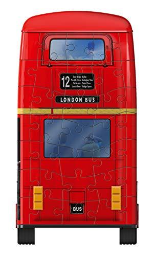 Ravensburger London Bus 3d Puzzle Multicolore 12534 0 5