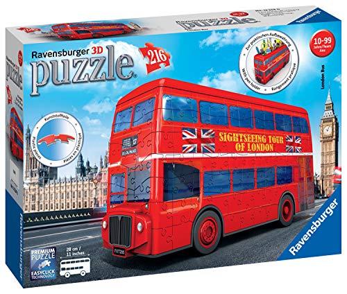 Ravensburger London Bus 3d Puzzle Multicolore 12534 0
