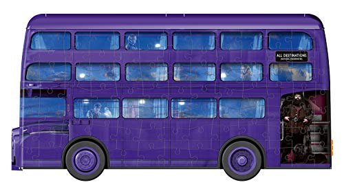 Ravensburger London Bus Harry Potter 3d Puzzle Multicolore 11158 0 4