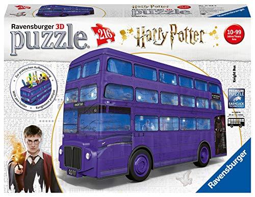 Ravensburger London Bus Harry Potter 3d Puzzle Multicolore 11158 0