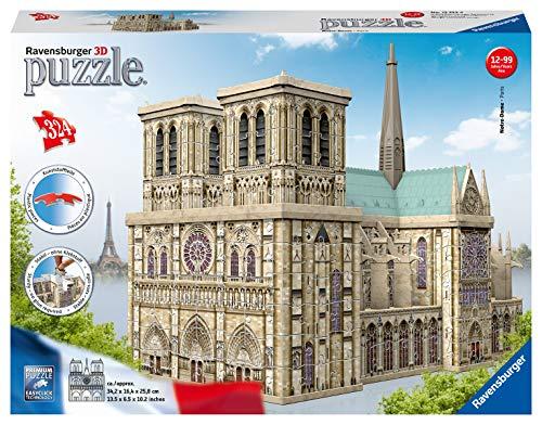Ravensburger Notre Dame Puzzle 3d Building Maxi 0 0