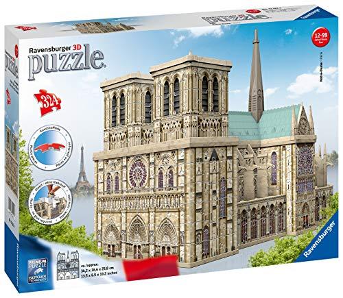 Ravensburger Notre Dame Puzzle 3d Building Maxi 0 1