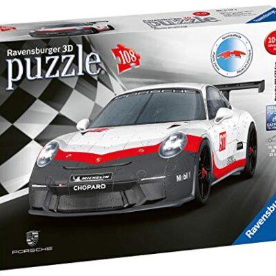 Ravensburger Porsche 911 Gt3 Cup Puzzle 3d Multicolore 11147 3 0