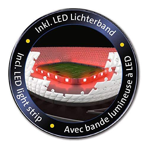 Ravensburger Puzzle 3d 216 Pices Stade Allianz Arena Illumin Alleanza Notte Colore 12530 0 3