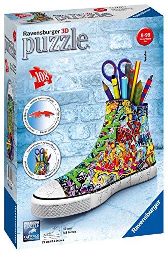 Ravensburger Puzzle 3d Sneaker Graffiti Style Rap125975 0