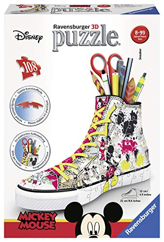Ravensburger Sneaker Disney Topolino Puzzle 3d Portapenne 0