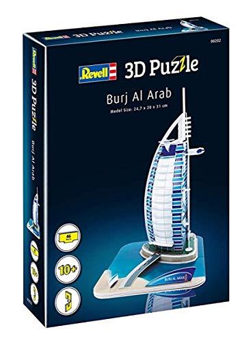 Revell Burj Al Arab 3d Puzzle Colore Multi Colour 00202 0 2