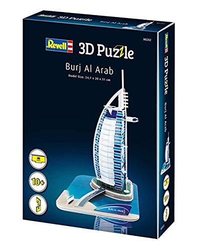 Revell Burj Al Arab 3d Puzzle Colore Multi Colour 00202 0 3
