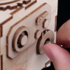 Robotime Build Robot Music Box Kit Puzzle 3d In Legno Tagliato A Laser Kit Modello Adulti San Valentino Creativo Compleanno Per Ragazzi E Ragazze 0