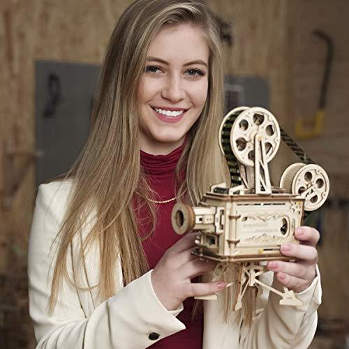 Robotime Mechanical Vitascope Kit Puzzle 3d Per Il Taglio Di Modelli 3d Per Il Legno Giochi Artigianali In Legno Per Bambini E Ragazzi 0 0