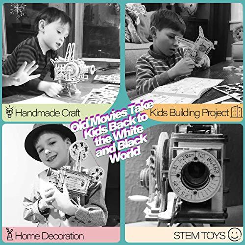 Robotime Mechanical Vitascope Kit Puzzle 3d Per Il Taglio Di Modelli 3d Per Il Legno Giochi Artigianali In Legno Per Bambini E Ragazzi 0 3