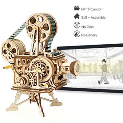 Robotime Mechanical Vitascope Kit Puzzle 3d Per Il Taglio Di Modelli 3d Per Il Legno Giochi Artigianali In Legno Per Bambini E Ragazzi 0