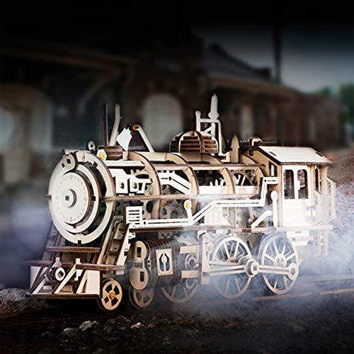Robotime Puzzle 3d In Legno Tagliato Al Laser Kit Modello Semovente Set Di Costruzione Meccanica Rompicapo Per Bambini Ragazzi E Adulti Air Vehicle 0 1