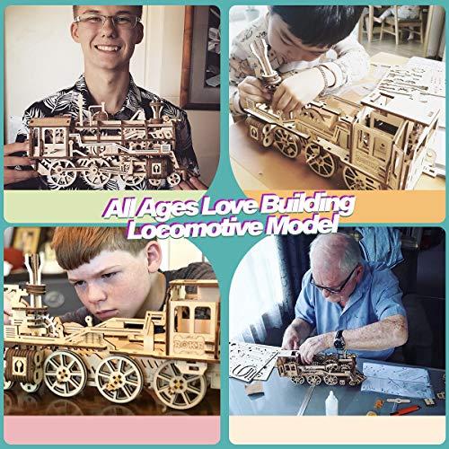 Robotime Puzzle 3d In Legno Tagliato Al Laser Kit Modello Semovente Set Di Costruzione Meccanica Rompicapo Per Bambini Ragazzi E Adulti Air Vehicle 0 3
