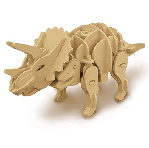 Robotime Rt9109 Triceratopo Kit Legno Con Sensori E Sonoro 0 0