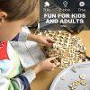 Robotime Solar Powered Stem Toys Taglio Laser Kit Modello Di Auto Robot Fai Da Te Puzzle In Legno 3d Et 14 Puzzle 3d Adulto Moon Buggy 0 0