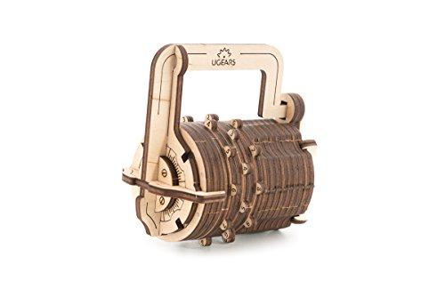 Ugears Il Lucchetto A Combinazione Gioco Modello Puzzle 3d Meccanico Da Costruire 0 0