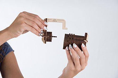 Ugears Il Lucchetto A Combinazione Gioco Modello Puzzle 3d Meccanico Da Costruire 0 5