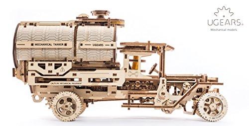 Ugears Kit Di Montaggio Per Camion Con Serbatoio Modello Meccanico In Legno Puzzle 3d 0 0