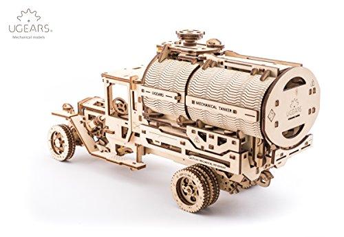 Ugears Kit Di Montaggio Per Camion Con Serbatoio Modello Meccanico In Legno Puzzle 3d 0 1