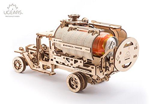 Ugears Kit Di Montaggio Per Camion Con Serbatoio Modello Meccanico In Legno Puzzle 3d 0 2