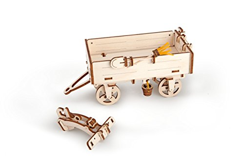 Ugears Mechanical 3d Puzzle Tractor Trailer By 0 1