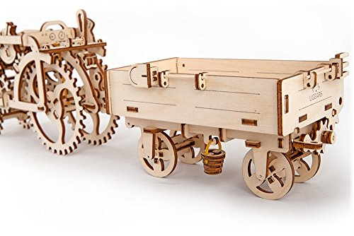 Ugears Mechanical 3d Puzzle Tractor Trailer By 0 2
