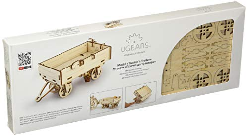 Ugears Mechanical 3d Puzzle Tractor Trailer By 0