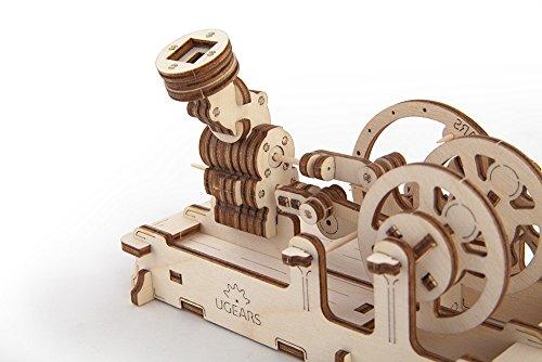 Ugears Motore Pneumatico Unica Colla Free Eco Friendly Kit Di Movimento Meccanico Meccanico Di Legno 0 0