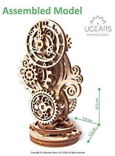 Ugears Orologio Steampunk Puzzle In Legno 3d Set Di Costruzione Modello Meccanico Orologio In Legno Kit Modello Fai Da Te Per Adulti Ragazzi E Bambini Splendido Arredamento Per La Casa 0 0