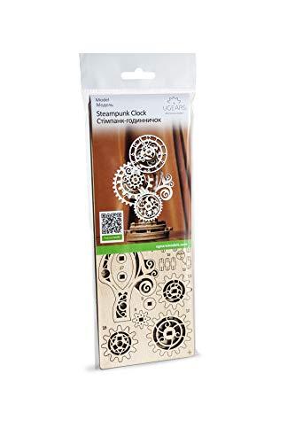 Ugears Orologio Steampunk Puzzle In Legno 3d Set Di Costruzione Modello Meccanico Orologio In Legno Kit Modello Fai Da Te Per Adulti Ragazzi E Bambini Splendido Arredamento Per La Casa 0 4