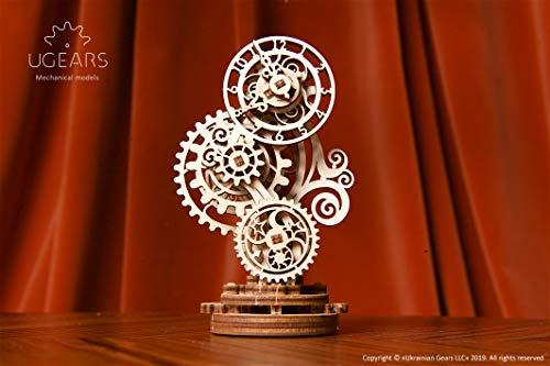Ugears Orologio Steampunk Puzzle In Legno 3d Set Di Costruzione Modello Meccanico Orologio In Legno Kit Modello Fai Da Te Per Adulti Ragazzi E Bambini Splendido Arredamento Per La Casa 0 5