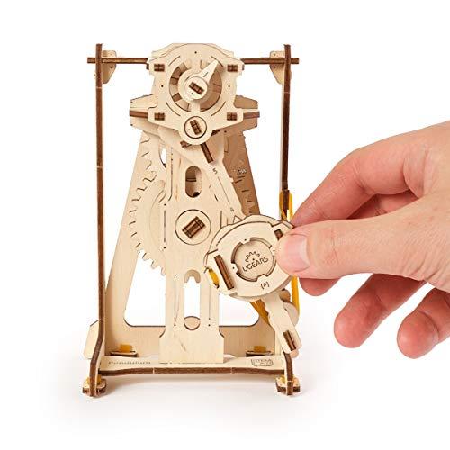 Ugears Stem Lab Puzzle 3d Giocattolo Stem Kit Di Costruzione In Legno Modellini Da Costruire Per Adulti Giocattoli Di Ingegneria Fai Da Te Con App Puzzle Per Adulti E Bambini 8 Pendolo 0 1