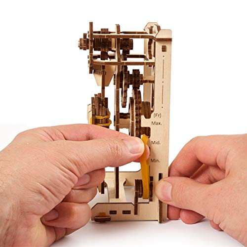Ugears Stem Lab Puzzle 3d Giocattolo Stem Kit Di Costruzione In Legno Modellini Da Costruire Per Adulti Giocattoli Di Ingegneria Fai Da Te Con App Puzzle Per Adulti E Bambini 8 Pendolo 0 2