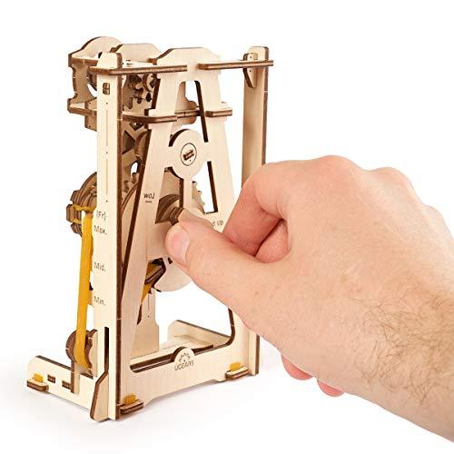 Ugears Stem Lab Puzzle 3d Giocattolo Stem Kit Di Costruzione In Legno Modellini Da Costruire Per Adulti Giocattoli Di Ingegneria Fai Da Te Con App Puzzle Per Adulti E Bambini 8 Pendolo 0 3