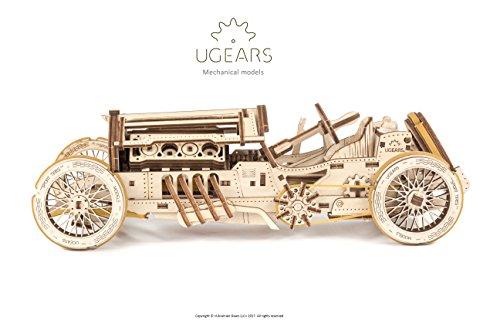 Ugears U 9 Grand Prix Auto Modello In Legno Set Di Costruzione Meccanica Macchina Da Corsa 0 0