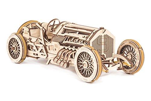 Ugears U 9 Grand Prix Auto Modello In Legno Set Di Costruzione Meccanica Macchina Da Corsa 0