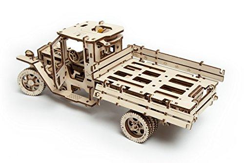 Ugears Ugm 11 Truck Meccanico Modello Autocarro Puzzle 3d In Legno Set Di Costruzione Meccanica 0 1