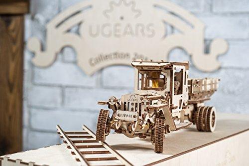 Ugears Ugm 11 Truck Meccanico Modello Autocarro Puzzle 3d In Legno Set Di Costruzione Meccanica 0 2