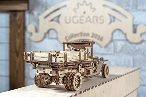 Ugears Ugm 11 Truck Meccanico Modello Autocarro Puzzle 3d In Legno Set Di Costruzione Meccanica 0 3