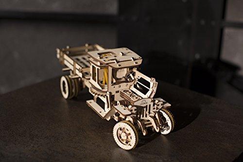 Ugears Ugm 11 Truck Meccanico Modello Autocarro Puzzle 3d In Legno Set Di Costruzione Meccanica 0 4