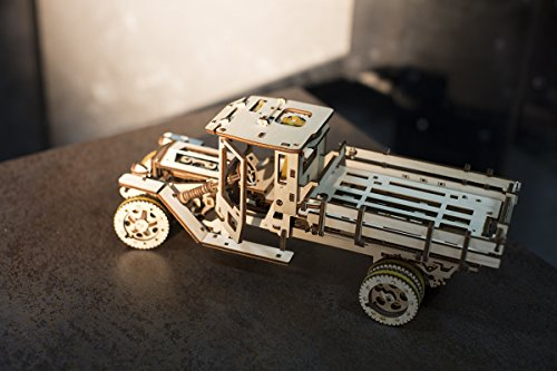 Ugears Ugm 11 Truck Meccanico Modello Autocarro Puzzle 3d In Legno Set Di Costruzione Meccanica 0 5