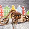Ugears Vm 02 Motocicletta In Legno Da Costruire Kit Fai Da Te Per Appassionati Di Motori 0 5