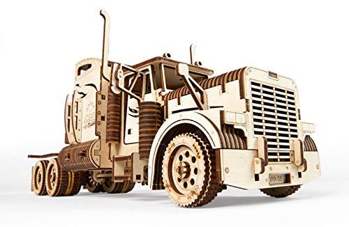 Ugears Vm 03 Camion In Legno Da Montare Modello In Miniature Fai Da Te Con Cabina Per Conducente Ricco Di Dettagli E Funzionante Ecologico Si Assembla Senza Colla Ottima Idea Regalo 0 1
