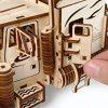 Ugears Vm 03 Camion In Legno Da Montare Modello In Miniature Fai Da Te Con Cabina Per Conducente Ricco Di Dettagli E Funzionante Ecologico Si Assembla Senza Colla Ottima Idea Regalo 0 3